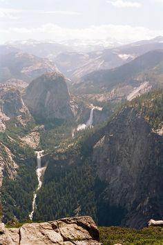 Vernal & Nevada Falls. Yosemite. GREAT shot!