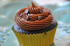 Alcohol adds naughtiness to an indulgent frosting Vegan Buttercream Frosting, Chocolate Buttercream Frosting, Butter Rice, Rice Milk, Unsweetened Cocoa, Powdered Sugar, Food Allergies, Vinegar, Baking Soda