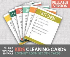 Printable Chore Cards, Printables, Cleaning Challenge, Cleaning Hacks, Reward Chart Kids, Online Printing Companies, Charts For Kids, Help Teaching, Dry Erase Markers