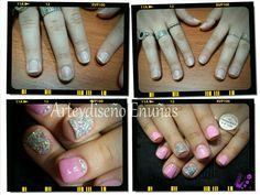 #nailsgel #nails #nailart #design #arte #diseño #modafeminina #modafashion #fashionista #style #holografico #pink #brillos #cristales #antesydespues #nails #arte #art #artist #artistic #glamour #modafeminina #fashionista #style #uñasesculpidas #gel #buenosaires #argentina
