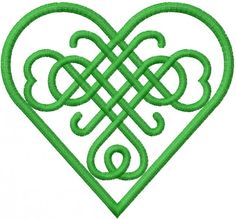 Celtic Heart embroidery design from embroiderydesigns. Machine Embroidery Designs, Embroidery Patterns, Quilt Patterns, Compass Tattoo, Celtic Symbols, Celtic Knots, Celtic Heart Knot, Mayan Symbols, Egyptian Symbols