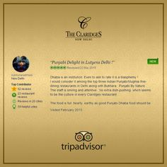 The appreciation of our diners continues to warm our hearts and compels us to strive for more!