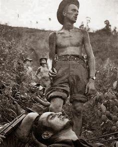 French troops, Dien Bien Phu - Vietnam War