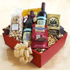 Wine gift baskets - Wine Lovers Delight