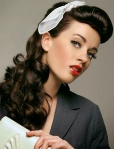 50S Hairstyles Gorgeous 50S Hairstyles For Long Hair Tutorial  Google Search  Beautyclean
