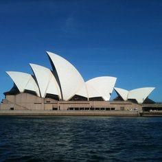 Such a beautiful, unique building - the iconic Sydney Opera House #sydney #australia