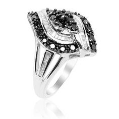 £159.99  Diamond (Rnd) Ring in Sterling Silver (Size N) 1.000 Ct.