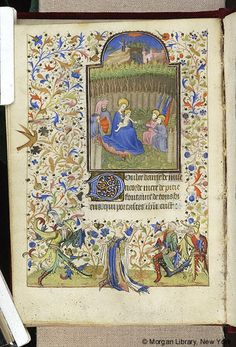Book of Hours, MS M.157 fol. 119v - Images from Medieval and Renaissance Manuscripts - The Morgan Library & Museum