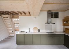Gallery of Studio Nencini / Alder Brisco - 14 Small Utility Room, Urban Cottage, Cozy Cottage, Timber Roof, Wooden Staircases, Wooden Windows, Industrial Shelving, Kitchen Cabinetry, Kitchen Reno