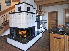 Stove Heater, Chalet Interior, Stove Fireplace, Rocket Stoves, Wood Burner, Herd, Home Goods, House Plans, New Homes