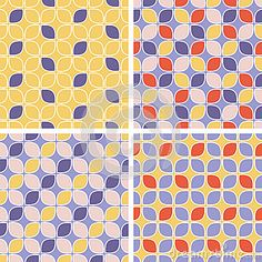 Vector Seamless Tiling Patterns - Geometric - Download From Over 30 Million High Quality Stock Photos, Images, Vectors. Sign up for FREE today. Image: 43512937