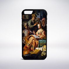 Rembrandt - Musical Allegory Phone Case – Muse Phone Cases