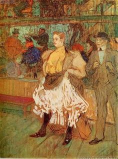 -, Al Moulin Rouge, Lautrec