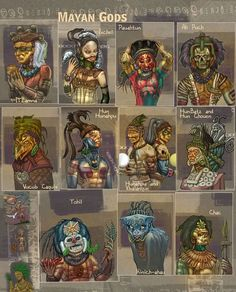 mayan aztec gods and mythology Mythological Creatures, Mythical Creatures, Maya Art, World Mythology, Inka, Legends And Myths, Mesoamerican, Ancient Aliens, Book Of Shadows