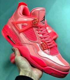 "2019 Air Jordan 4 GS 11Lab4 ""Pink Patent"" Leather  c3dec9687"
