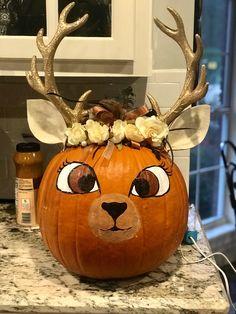 19 Animal Decorative Pumpkins For An Awesome Autumn - HomelySmart Christmas Pumpkins, Halloween Pumpkins, Fall Halloween, Halloween Crafts, Halloween Decorations, Pumpkin Crafts, Fall Crafts, Holiday Crafts, Pumpkin Ideas