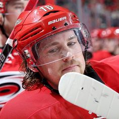"""""""I wish you'd look at me the way Elias Lindholm looks at his hockey stick."""""""