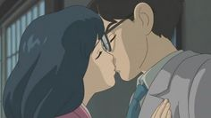 "Naoko and Jiro's last kiss - ""The Wind Rises"" (2013)"
