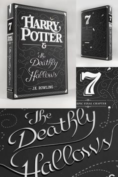harry potter, redesigned