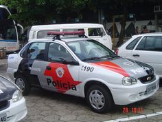 Corsa - Currently used by Police in São Paulo