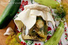 Ароматные жареные кабачки на зиму с чесноком и зеленью