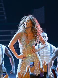 Jennifer Lopez performs live in concert at Crocus City Hall in Moscow, Russia on November 10, 2012.