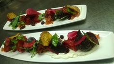 Roasted Beet Salad at Aerie Restaurant & Lounge located inside Grand Traverse Resort and Spa.