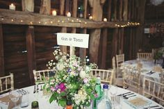 Love the flowers and the table name!