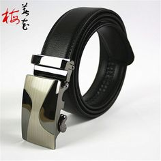Aliexpress.com : Buy 2016 new arrival automatic buckle brand designer Genuine leather belts for men double faced Cowskin Business male Belt Strap from Reliable leather covered buckle belt suppliers on YanYang International Company Ltd. Waist Belts, Leather Belts, Leather Cover, Belt Buckles, Branding Design, Business, Face, Stuff To Buy, Men