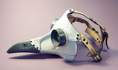 """""""Ichabod"""" Plague Doctor mask by Tom Banwell"""