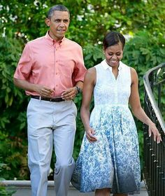 The President and First Lady Michele Obama celebrate Independence Day hosting Military Families.