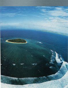 A faraway deserted island