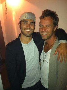 Tyler Hoechlin & JR Bourne...look at these  sexy men!!!!!!!!! ahhh words cant explain!!