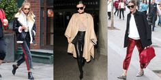 Best Celebrity Off-Duty Winter Outfits - Model Off-Duty Style Photos
