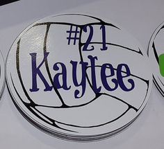 Volleyball Sign By Atmiles On Etsy Door Hanger - Custom volleyball car magnets