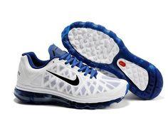 ナイキ Nike エアマックス + 2011 ホワイト / ブラック / ディープ ロイアル Nike0195
