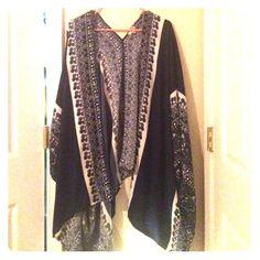 Blue Kimono NWOT, my kimono collection got too extensive lol. Lily White Other