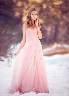 This is gorgeous!  I wish I could convince someone to do a snow shoot!