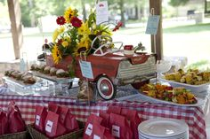Vintage Fire Truck Birthday Party