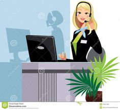 Call Center Girl - Download From Over 58 Million High Quality Stock Photos, Images, Vectors. Sign up for FREE today. Image: 24047466