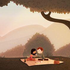 Strawberries #romantic #picnic #summerlove
