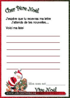 letters to santa in french 1000 images about noel la lettre on noel diy 22073 | 0768388a1c2a01d730133c010ba0624e