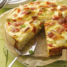 Quiche aux asperges Recette | Weight Watchers