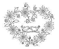 Sliekje digi Stamps: Loving birds
