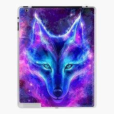 Dream Catcher Pictures, Wolf Craft, Magic Fox, Galaxy Wolf, Watercolor Wolf, Tattoo Watercolor, Wolf Painting, Diy Painting, Unicorn Painting