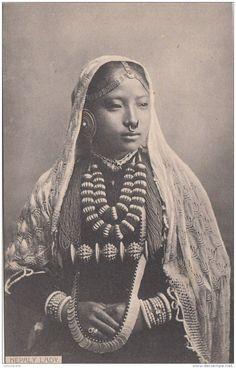 Nepali woman jewelry