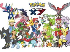 Pokémon XY: Everything You Need to Know About the Characters ...