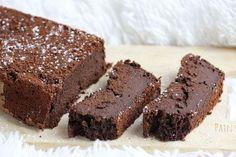 Fondant au chocolat sans beurre à la compote de pommes : très facile à réaliser, ultra fondant, et très très chocolaté. Un gâteau sans culpabilité !