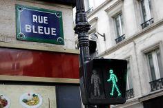 Rue bleu #paris #street