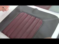 Flat Arch Designs - Car Upholstery for Beginners- Part Two - YouTube